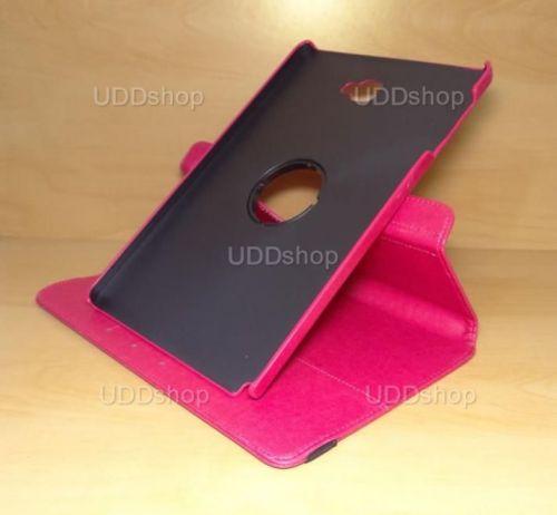 Capa Case Capinha Carteira Giratória 360° PINK Tablet Samsung Galaxy Tab A 10.1 (2016) SM-P585m + Frete Grátis 339556