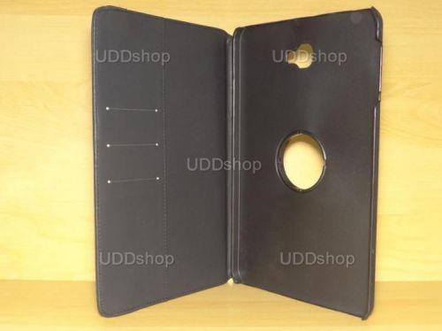 Capa Case Capinha Carteira Giratória 360° PRETA Tablet Samsung Galaxy Tab A 10.1 (2016) SM-T580 ou SM-T585 + Frete Grátis 339538