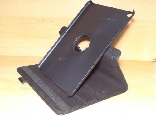 Capa Case Giratória 360º PRETA Tablet Apple iPad5 Air A1474, A1475 e A1476 -- iPad6 Air 2 A1566 e A1567 -- V3 + Frete Grátis 368533