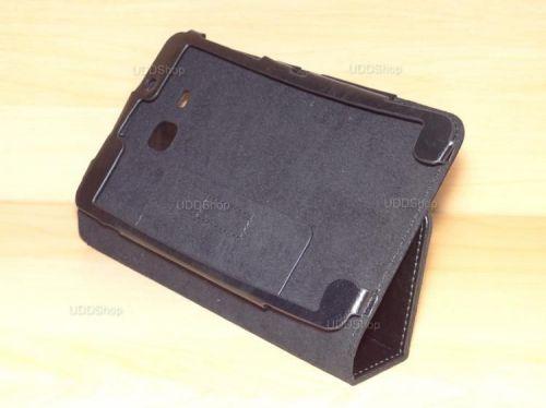 Capa Case Capinha Pasta PRETA Tablet Samsung Galaxy Tab A 7.0 (2016) SM-T280 ou SM-T285 + Frete Grátis 368540