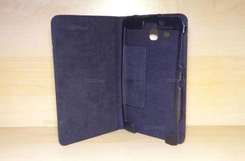 Capa Case Capinha Pasta PRETA Tablet Samsung Galaxy Tab A 7.0 (2016) SM-T280 ou SM-T285 + Frete Grátis 368538