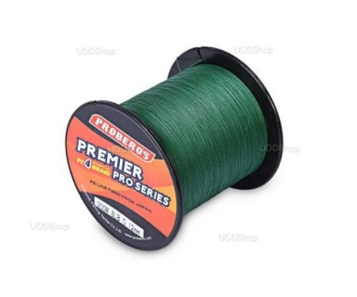 Linha de Pesca Multi-Filamento Proberos 300 metros 0,20mm 20Lbs cor Verde + Frete Grátis 419088