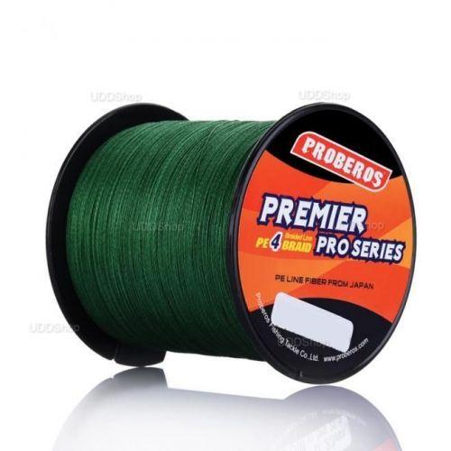 Linha de Pesca Multi-Filamento Proberos 300 metros 0,20mm 20Lbs cor Verde + Frete Grátis 419087