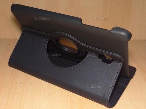 Capa Case Capinha Carteira Giratória 360° PRETA Tablet Samsung Galaxy Tab A 8.0 (2017) SM-T380 SM-T385m + Frete Grátis 419039