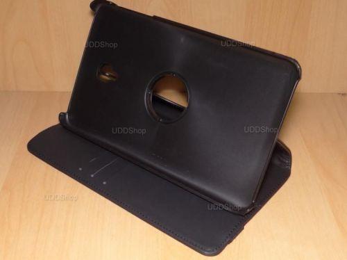 Capa Case Capinha Carteira Giratória 360° PRETA Tablet Samsung Galaxy Tab A 8.0 (2017) SM-T380 SM-T385m + Frete Grátis 419038
