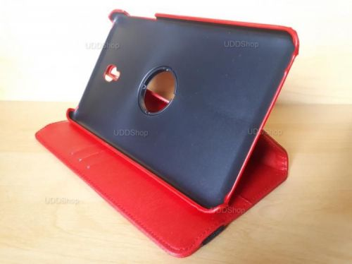 Capa Case Capinha Carteira Giratória 360° VERMELHA Tablet Samsung Galaxy Tab A 8.0 (2017) SM-T380 SM-T385m + Frete Grátis 419022