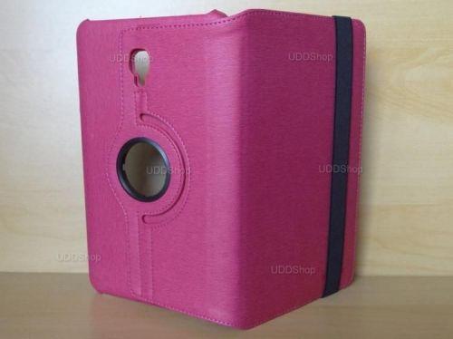 Capa Case Capinha Carteira Giratória 360° PINK Tablet Samsung Galaxy Tab A 8.0 (2017) SM-T380 SM-T385m + Frete Grátis 419028