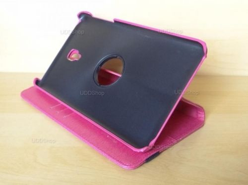 Capa Case Capinha Carteira Giratória 360° PINK Tablet Samsung Galaxy Tab A 8.0 (2017) SM-T380 SM-T385m + Frete Grátis 419030