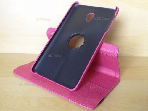 Capa Case Capinha Carteira Giratória 360° PINK Tablet Samsung Galaxy Tab A 8.0 (2017) SM-T380 SM-T385m + Frete Grátis 419031