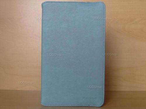 Capa Case Capinha Carteira Giratória 360° AZUL Turquesa Tablet Samsung Galaxy Tab A 8.0 (2017) SM-T380 SM-T385m + Frete Grátis 419015