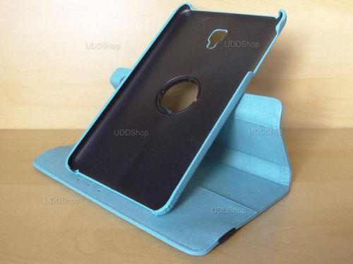 Capa Case Capinha Carteira Giratória 360° AZUL Turquesa Tablet Samsung Galaxy Tab A 8.0 (2017) SM-T380 SM-T385m + Frete Grátis 419018