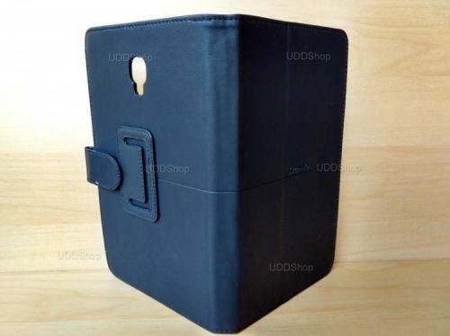 Capa Case Carteira Couro PRETA Tablet Samsung Galaxy Tab A 8.0 Modelos SM-T380 ou SM-T385 2017 + Frete Grátis 418980