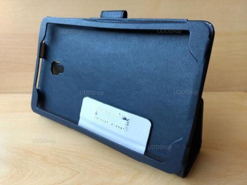 Capa Case Carteira Couro PRETA Tablet Samsung Galaxy Tab A 8.0 Modelos SM-T380 ou SM-T385 2017 + Frete Grátis 418982