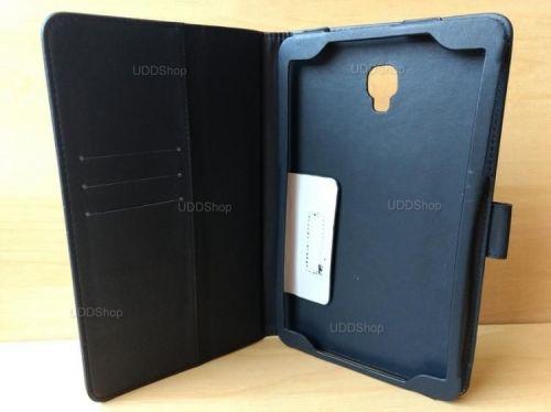 Capa Case Carteira Couro PRETA Tablet Samsung Galaxy Tab A 8.0 Modelos SM-T380 ou SM-T385 2017 + Frete Grátis 418981