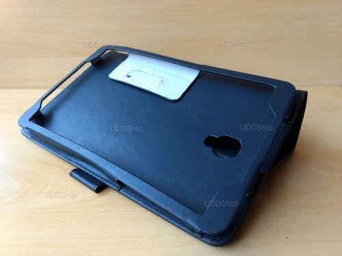 Capa Case Carteira Couro PRETA Tablet Samsung Galaxy Tab A 8.0 Modelos SM-T380 ou SM-T385 2017 + Frete Grátis 418983