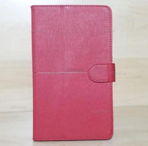 Capa Case Carteira Couro VERMELHA Tablet Samsung Galaxy Tab A 8.0 Modelos SM-T380 ou SM-T385 2017 + Frete Grátis 418963