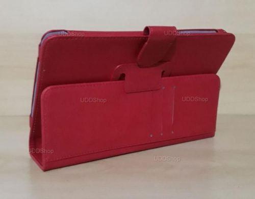 Capa Case Carteira Couro VERMELHA Tablet Samsung Galaxy Tab A 8.0 Modelos SM-T380 ou SM-T385 2017 + Frete Grátis 418967