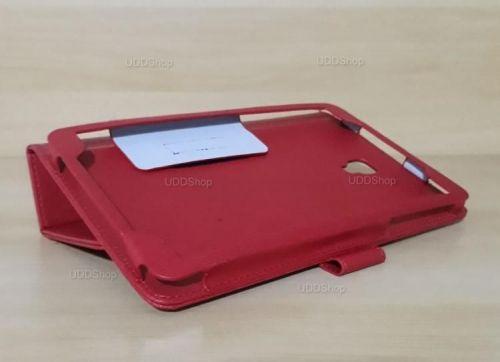 Capa Case Carteira Couro VERMELHA Tablet Samsung Galaxy Tab A 8.0 Modelos SM-T380 ou SM-T385 2017 + Frete Grátis 418966