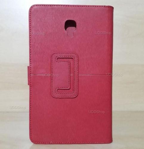 Capa Case Carteira Couro VERMELHA Tablet Samsung Galaxy Tab A 8.0 Modelos SM-T380 ou SM-T385 2017 + Frete Grátis 418962