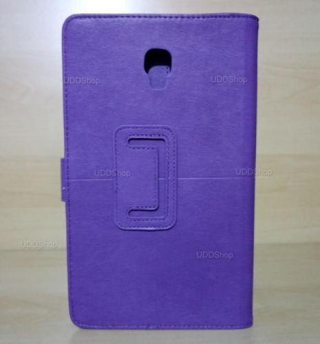 Capa Case Carteira Couro ROXA Tablet Samsung Galaxy Tab A 8.0 Modelos SM-T380 ou SM-T385 2017 + Frete Grátis 418951