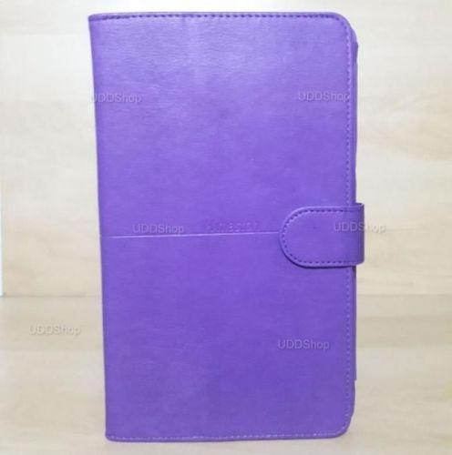 Capa Case Carteira Couro ROXA Tablet Samsung Galaxy Tab A 8.0 Modelos SM-T380 ou SM-T385 2017 + Frete Grátis 418950