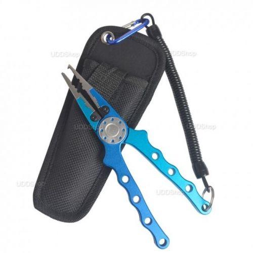 Alicate Multifuncional para Pesca de Aluminio Alta Resistência 20 CM cor Azul + Frete Grátis 418940
