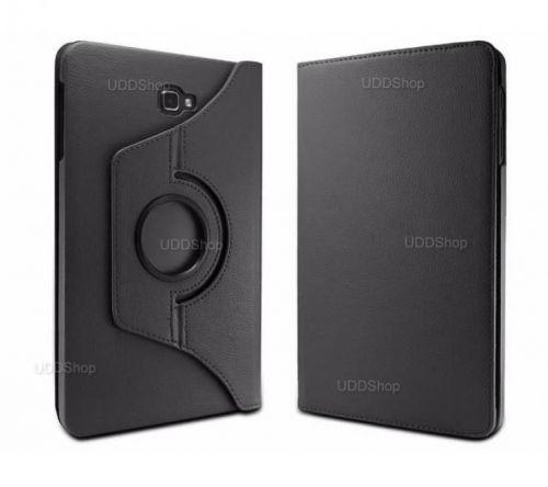 Capa Case Capinha Giratória 360° PRETA Tablet Samsung Galaxy Tab A 10.1 (2016) SM-T580 ou SM-T585 V2 + Frete Grátis 418926