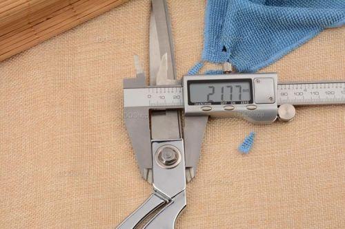 Tesoura Profissional de Aço para Alfaiataria, Costura, Artesanato, Papel, Borracha ou Plástico - Prata + Frete Grátis 420882
