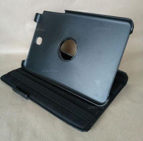 Capa Case Carteira Giratória 360º PRETA Tablet Samsung Galaxy Tab A 8.0 Modelos SM-P350n, SM-P355m, SM-T350n ou SM-T355n V2 + Frete Grátis 503964