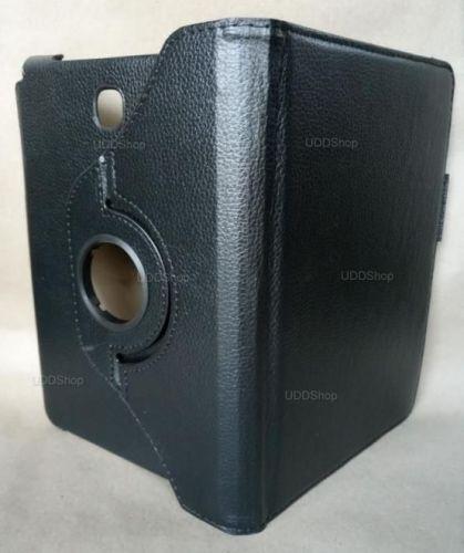 Capa Case Carteira Giratória 360º PRETA Tablet Samsung Galaxy Tab A 8.0 Modelos SM-P350n, SM-P355m, SM-T350n ou SM-T355n V2 + Frete Grátis 503962