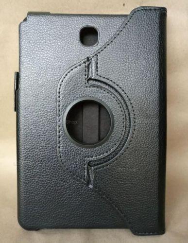 Capa Case Carteira Giratória 360º PRETA Tablet Samsung Galaxy Tab A 8.0 Modelos SM-P350n, SM-P355m, SM-T350n ou SM-T355n V2 + Frete Grátis 503959