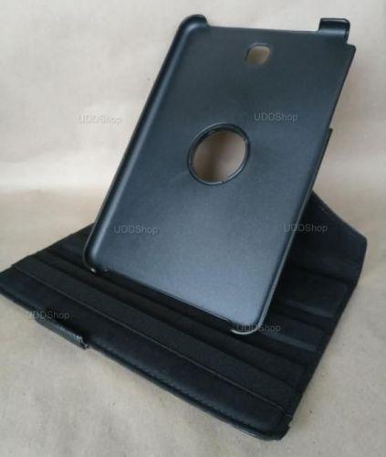 Capa Case Carteira Giratória 360º PRETA Tablet Samsung Galaxy Tab A 8.0 Modelos SM-P350n, SM-P355m, SM-T350n ou SM-T355n V2 + Frete Grátis 503963