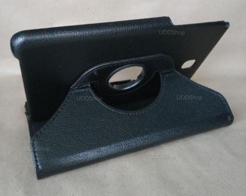 Capa Case Carteira Giratória 360º PRETA Tablet Samsung Galaxy Tab A 8.0 Modelos SM-P350n, SM-P355m, SM-T350n ou SM-T355n V2 + Frete Grátis 503965