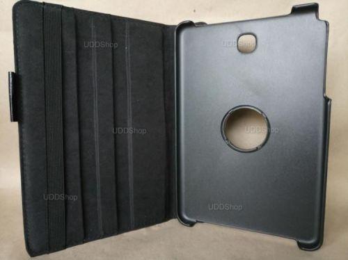 Capa Case Carteira Giratória 360º PRETA Tablet Samsung Galaxy Tab A 8.0 Modelos SM-P350n, SM-P355m, SM-T350n ou SM-T355n V2 + Frete Grátis 503961