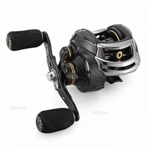 Carretilha Mão Direita FishDrops LB200R 18 Rolamentos - Gear Ratio 7.0:1 - Drag 5.5kg 211g + Frete Grátis 503941
