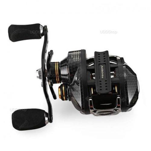 Carretilha Mão Direita FishDrops LB200R 18 Rolamentos - Gear Ratio 7.0:1 - Drag 5.5kg 211g + Frete Grátis 503945