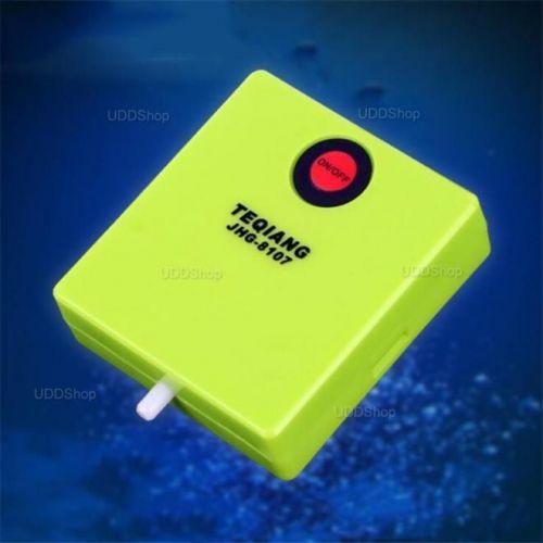 Bomba de AR Oxigênio Portátil para Aquário. Ideal para manter Iscas Viva. Peixe ou Camarão + Frete Grátis 503905
