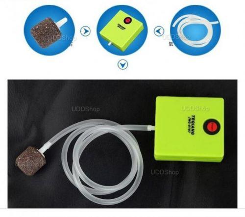 Bomba de AR Oxigênio Portátil para Aquário. Ideal para manter Iscas Viva. Peixe ou Camarão + Frete Grátis 503904
