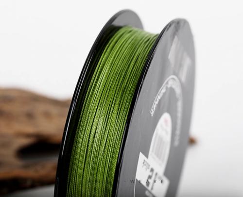 Linha de Pesca Multi-Filamento KingWow 150 metros 0,16mm 12 Fios 9.1Kg cor Verde + Frete Grátis 511080