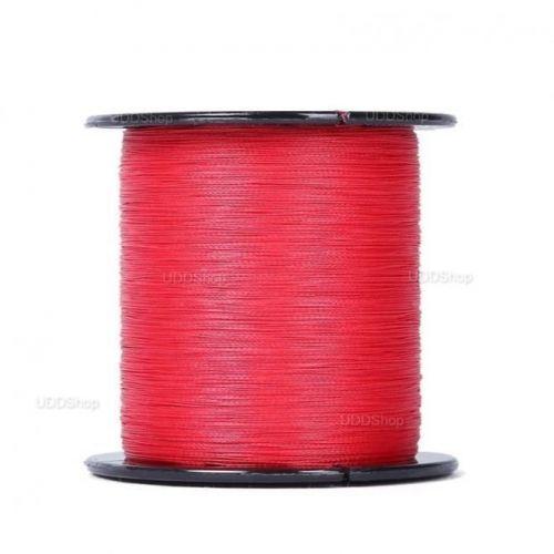 Linha de Pesca Multi-Filamento Proberos 300 metros 0,30mm 35Lbs 15kg cor Vermelha + Frete Grátis 512299