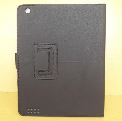 Capa Case Pasta Carteira PRETA Tablet Apple iPad2 A1395 A1396 A1397 -- iPad3 A1416 A1430 A1403 -- iPad4 A1458 A1459 A1460 + Frete Grátis 512260