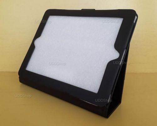 Capa Case Pasta Carteira PRETA Tablet Apple iPad2 A1395 A1396 A1397 -- iPad3 A1416 A1430 A1403 -- iPad4 A1458 A1459 A1460 + Frete Grátis 512264