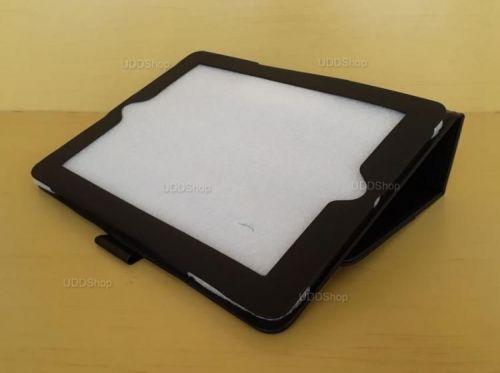 Capa Case Pasta Carteira PRETA Tablet Apple iPad2 A1395 A1396 A1397 -- iPad3 A1416 A1430 A1403 -- iPad4 A1458 A1459 A1460 + Frete Grátis 512263