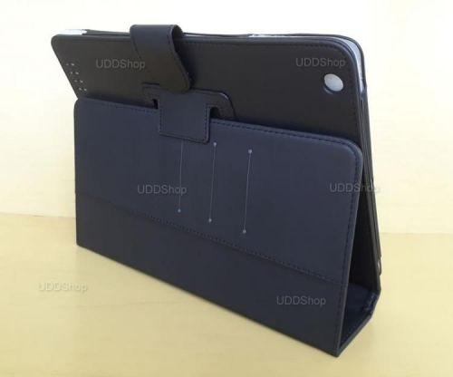 Capa Case Pasta Carteira PRETA Tablet Apple iPad2 A1395 A1396 A1397 -- iPad3 A1416 A1430 A1403 -- iPad4 A1458 A1459 A1460 + Frete Grátis 512265