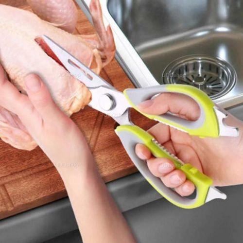 Tesoura Trinchante Pró Multi-Uso para Cozinha. Para Cortar Peixes, Aves, Carne, Ervas, e muito mais + Frete Grátis 527267