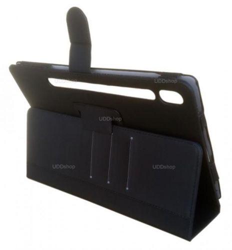 Capa Case Carteira Pasta PRETA Tablet Samsung Galaxy Tab S6 10.5 (2019) SM-T860 SM-T865 538638