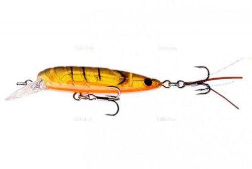 Isca Artificial Tipo Camarão Doido para Pesca 45mm 3g Laranja Semi-transparente C131 579669