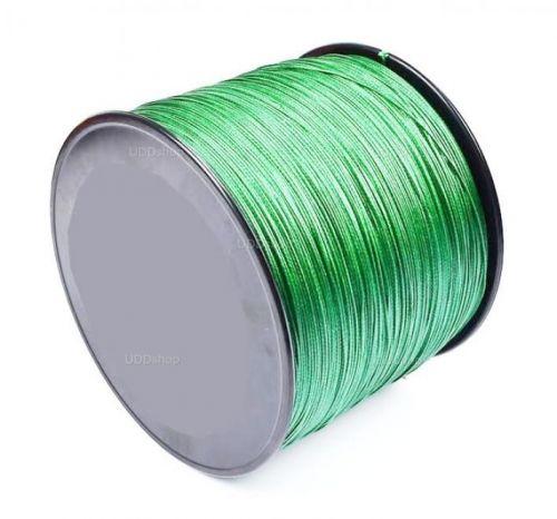 Linha de Pesca Multi-Filamento X9 Sougayilang 500 metros 0,45mm 100Lbs 9 Fios 45Kg cor Verde 579666