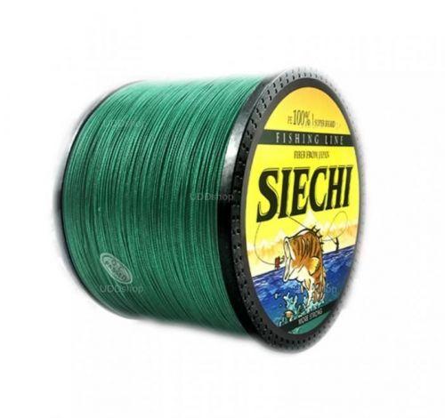 Linha de Pesca Multi-Filamento Siechi 300 metros 0,50mm 83Lbs 37kg cor Verde 586180