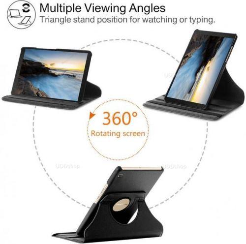 Capa Case Capinha Giratória 360° PRETA Tablet Samsung Galaxy Tab A 8.0 (2019) SM-T290 SM-T295 V2 586178